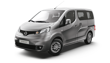 Nissan Evalia DIESEL 7 SEATS transfer GR